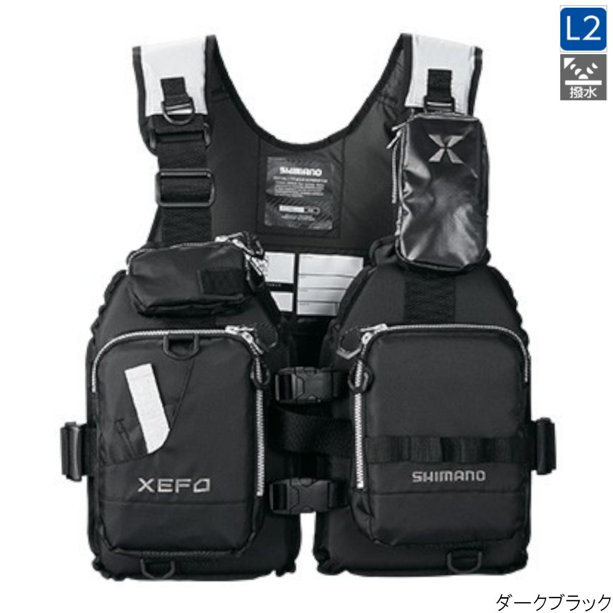 XEFO・ゲームベスト VF-278R フリー ダークブラック シマノ