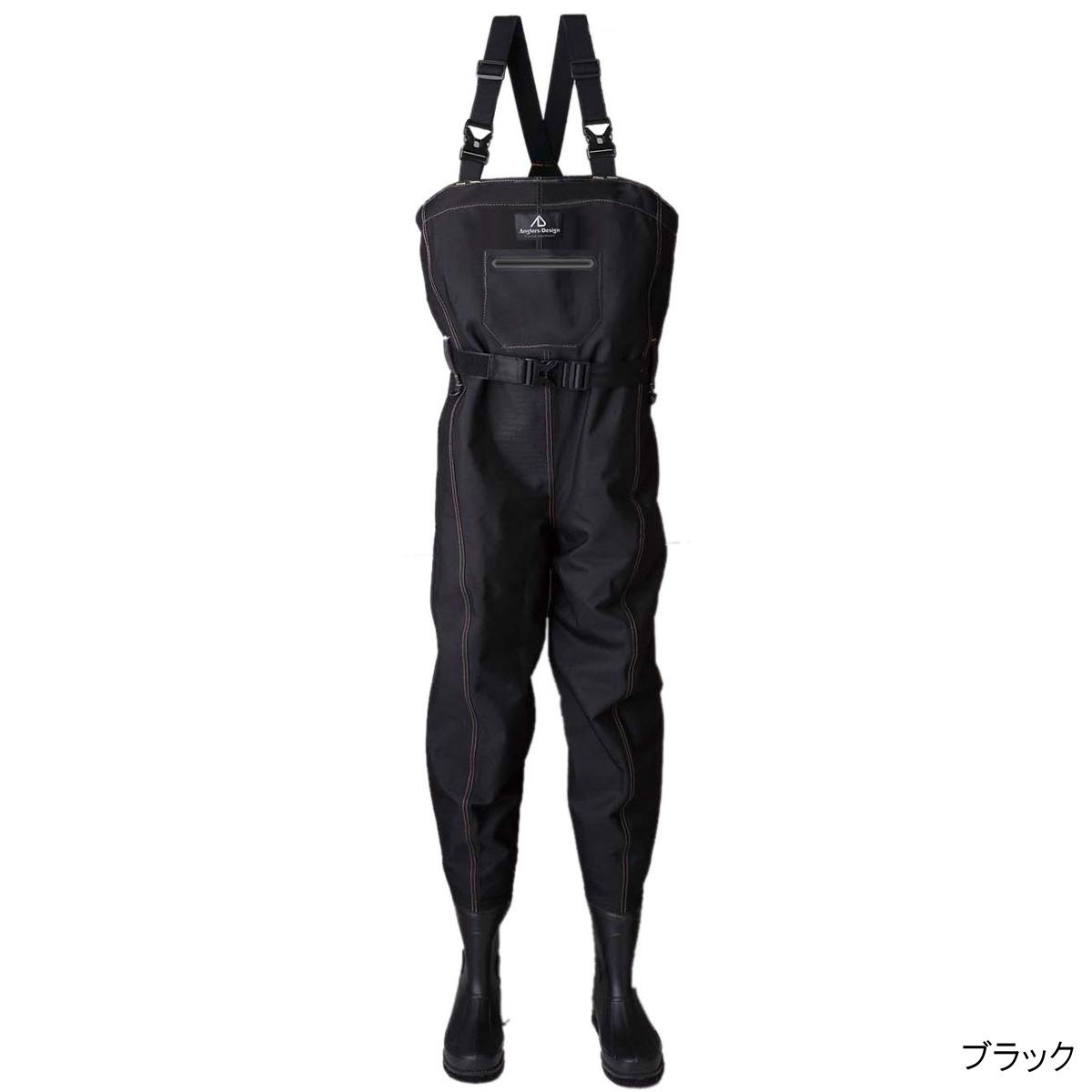 トライアルブーツフットウェーダー ADW-11 M ブラック【送料無料】
