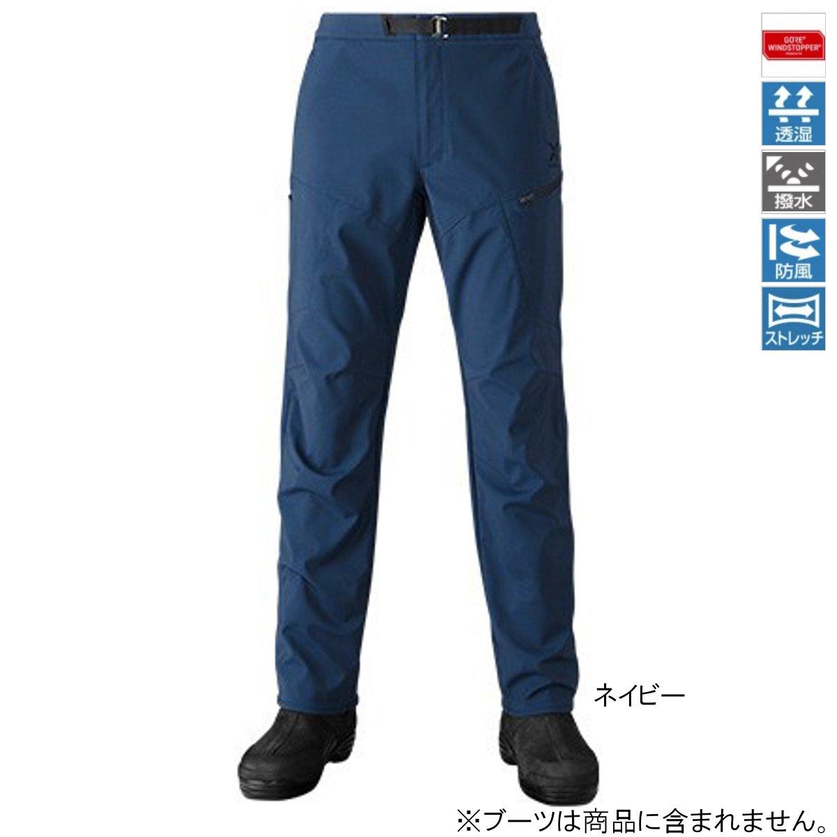 シマノ XEFO GORE WINDSTOPPER ボトム PA-241R 2XL ネイビー【送料無料】