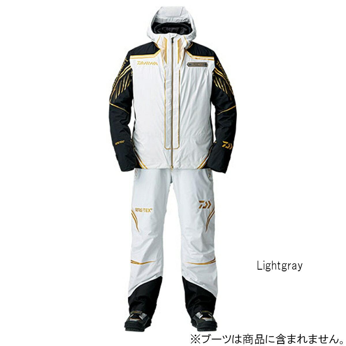 ダイワ トーナメント ゴアテックス プロダクト ウィンタースーツ DW-1008T L Lightgray【送料無料】