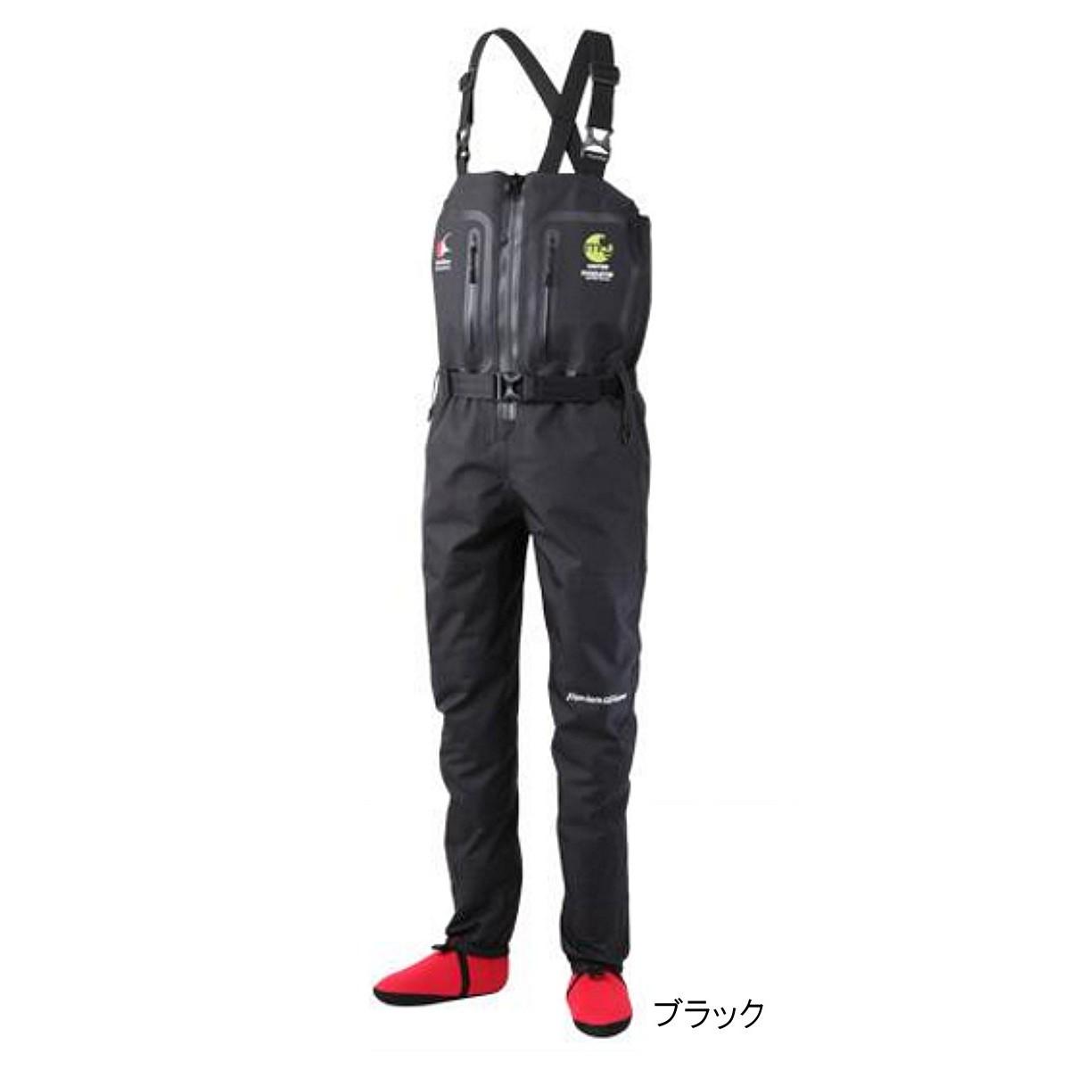 マズメ フルオープンストッキングウェイダー MZST-295 L ブラック【送料無料】