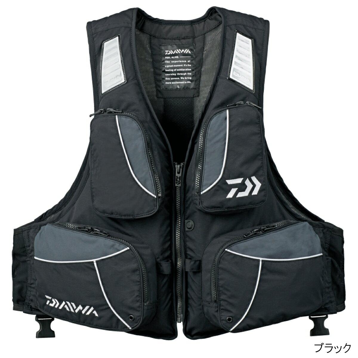 【超特価】 ダイワ ライトフロートベスト DF-6307 ブラック DF-6307 ダイワ XL ブラック, agog:99194c9d --- canoncity.azurewebsites.net
