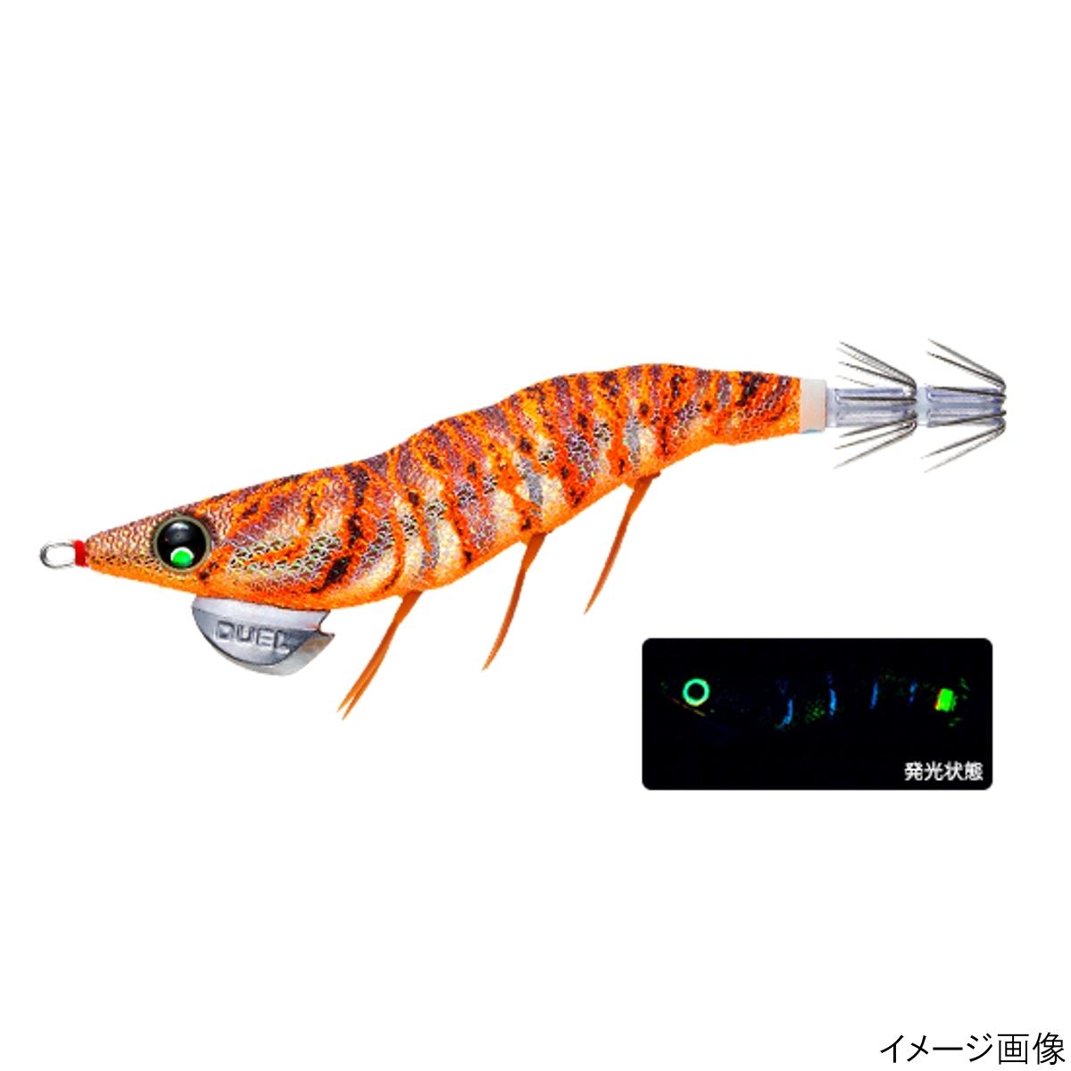 EZ-Q ダートマスター ラトル 3.0号 BLBW ブルー夜光ゴールドブラウン