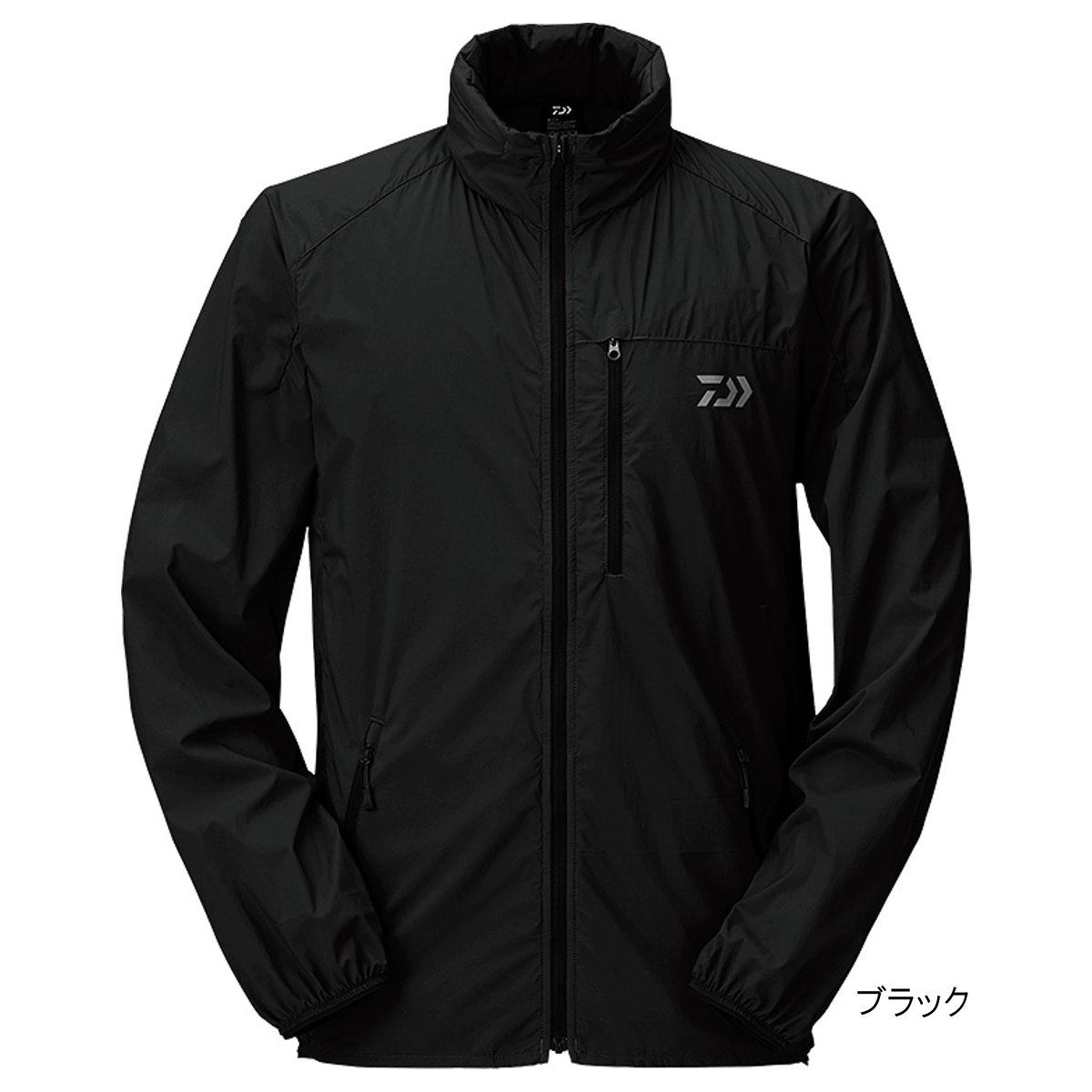 ダイワ ポケッタブルウィンドジャケット DJ-33009 L ブラック【送料無料】