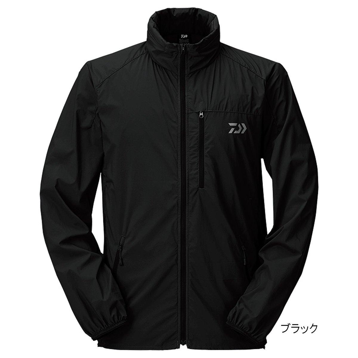 ダイワ ポケッタブルウィンドジャケット DJ-33009 XL ブラック【送料無料】