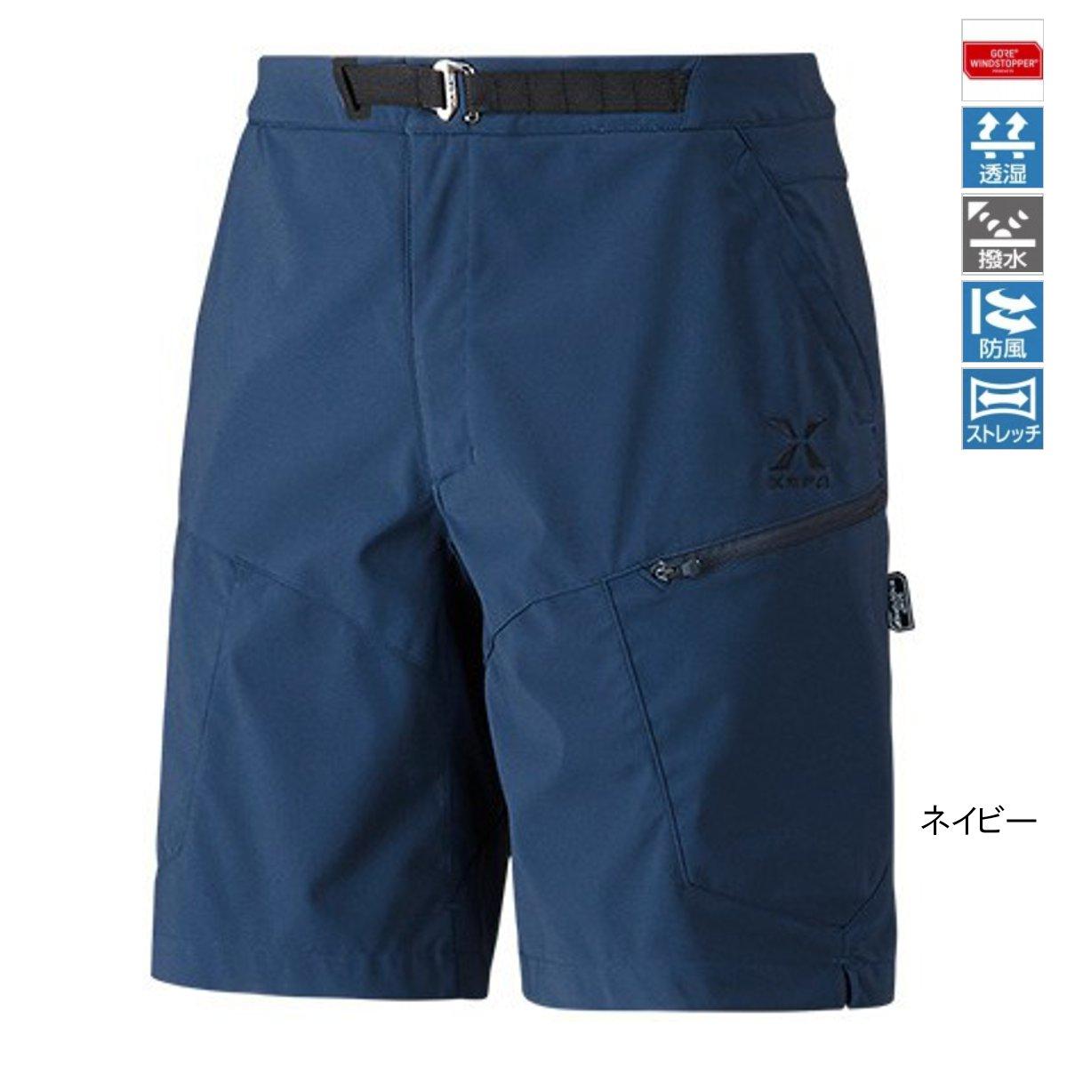 シマノ XEFO GORE WINDSTOPPER ショーツ PA-242R M ネイビー【送料無料】