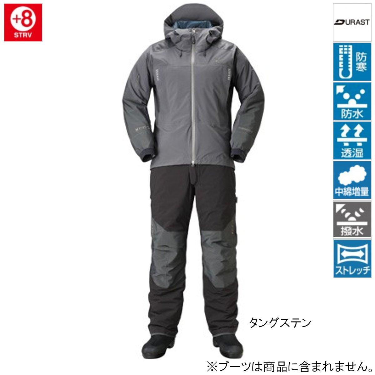 シマノ XEFO ストレッチ ウォームスーツ RB-224R 2XL タングステン【送料無料】