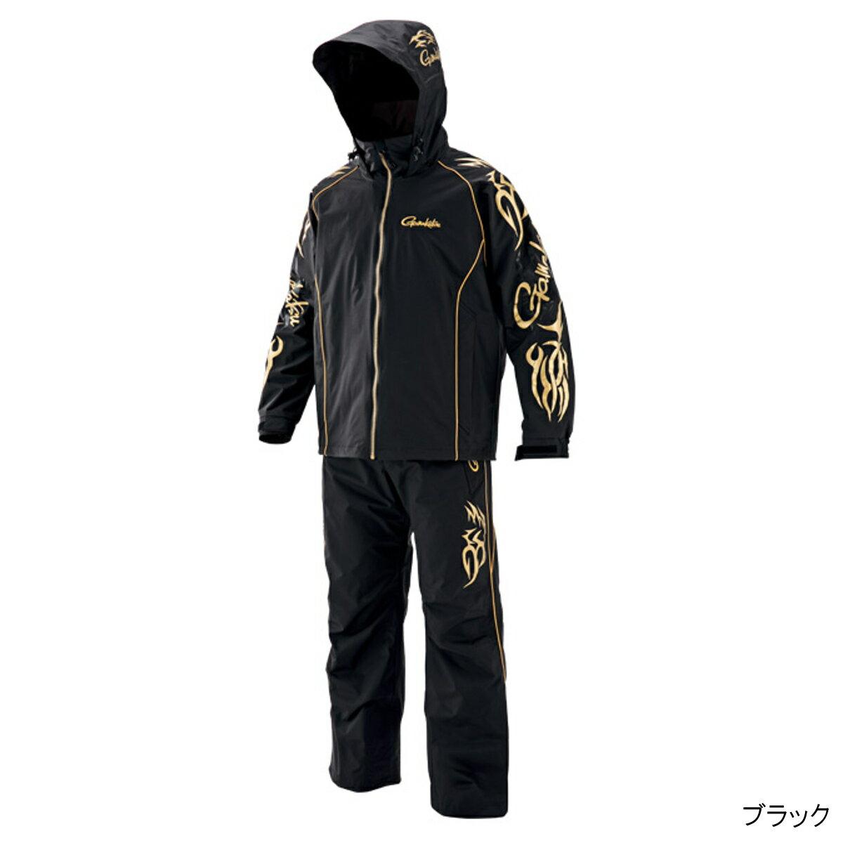 アルテマシールド200 フィッシングレインスーツ(超々耐久撥水仕様) GM-3502 L ブラック【送料無料】