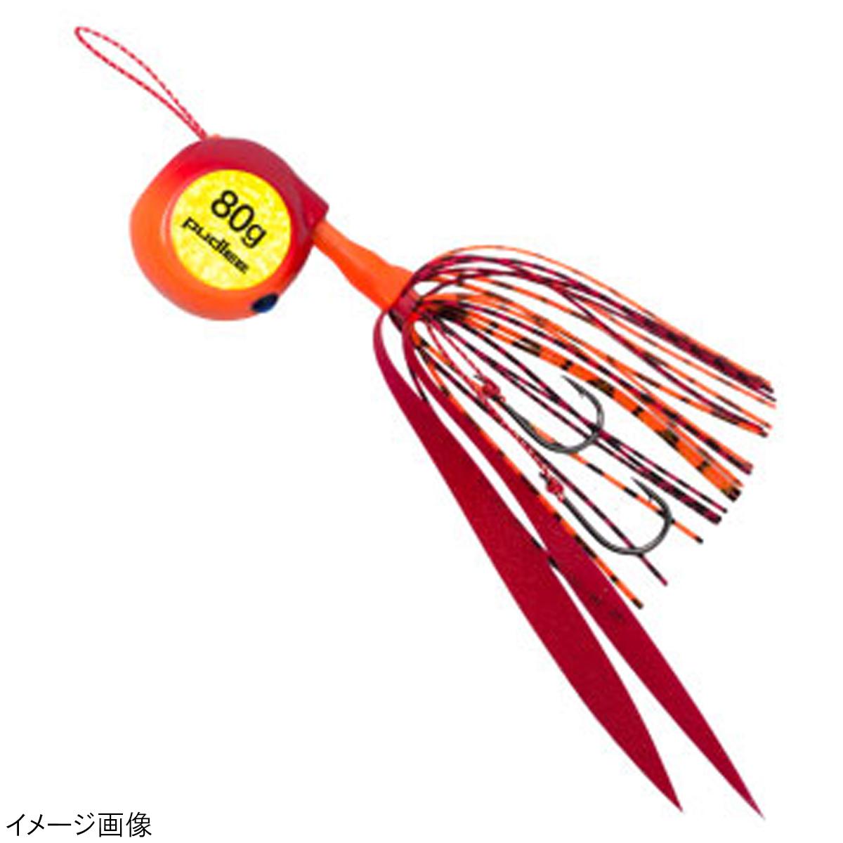 タイラバジェット 限定タイムセール TRJ-0045 80g 売り出し レッドオレンジ