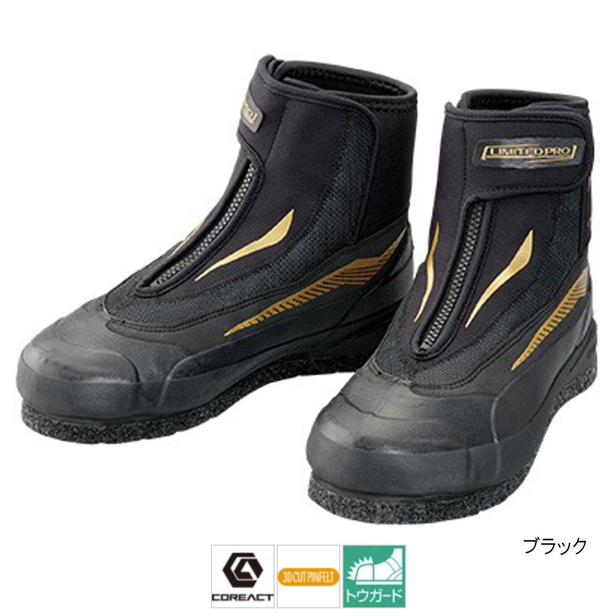シマノ 3Dカットピンフェルトシューズリミテッドプロ FA-057S 25.0cm ブラック【送料無料】