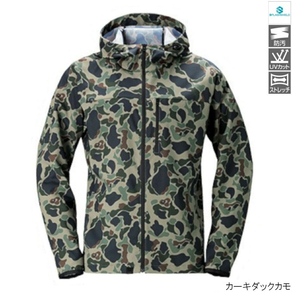 SSジャケット WJ-048T L カーキダックカモ シマノ【同梱不可】