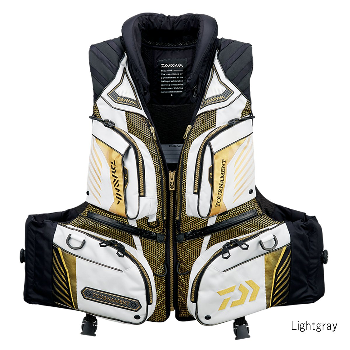 ダイワ トーナメント バリアテック 枕つきサイバーフロート DF-3108T L Lightgray【送料無料】