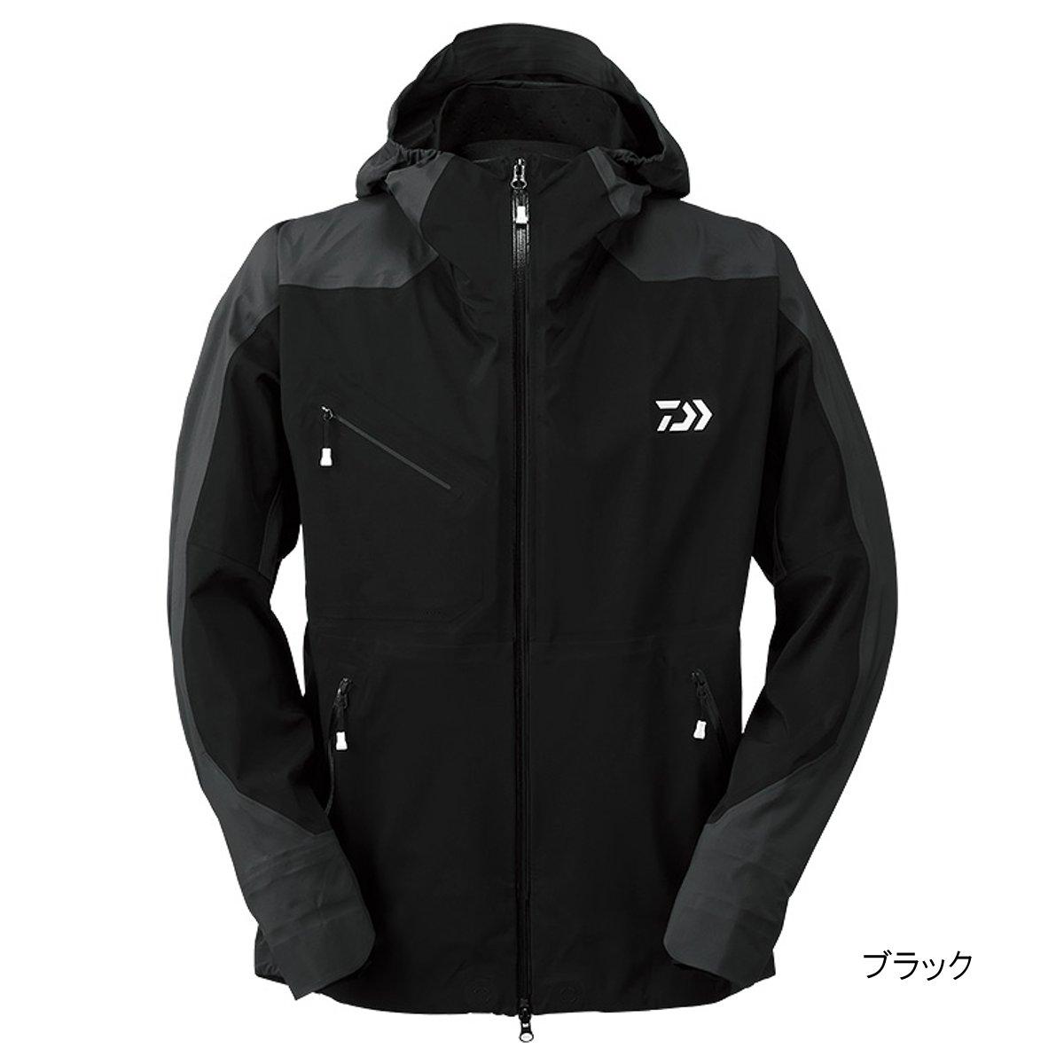 ダイワ ポーラテック ネオシェル ハイブリッドレインジャケット DR-20009J M ブラック【送料無料】
