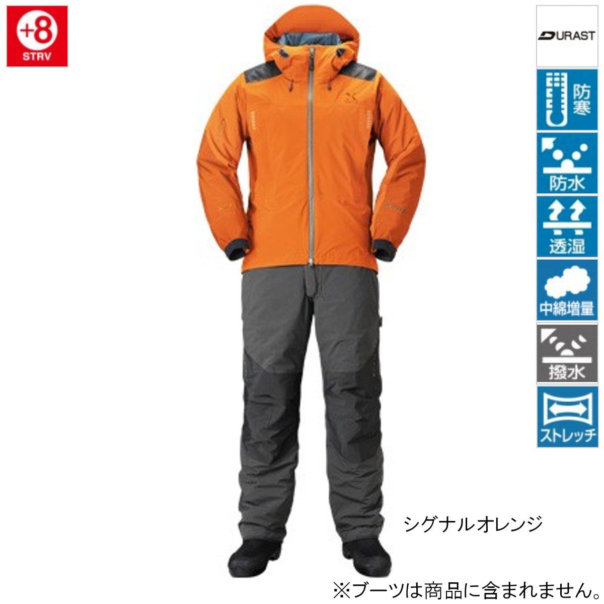 シマノ XEFO ストレッチ ウォームスーツ RB-224R XL シグナルオレンジ【送料無料】