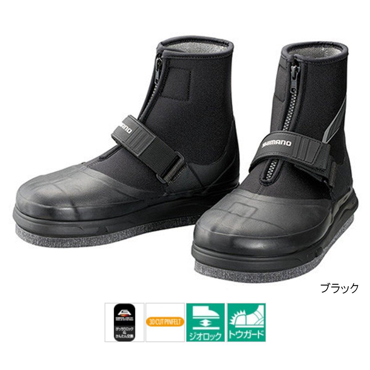 シマノ ジオロック・3Dカットピンフェルト鮎タビ(中割) TA-061R M ブラック【送料無料】
