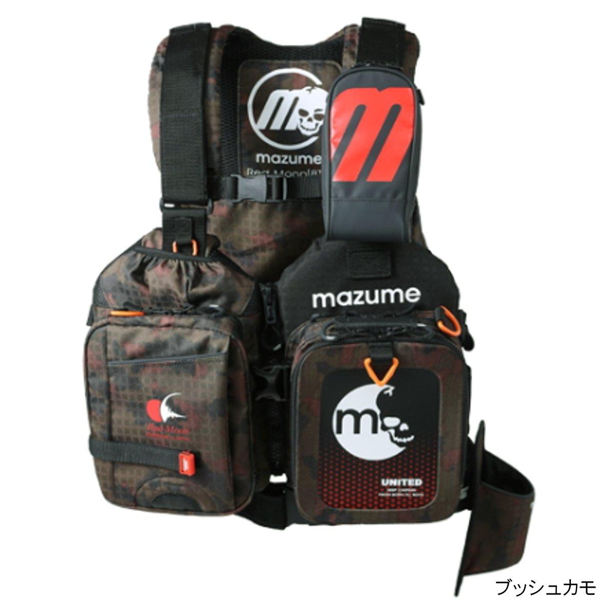 オレンジブルー mazume レッドムーンライフジャケット VIII MZLJ-402 フリー ブッシュカモ【送料無料】