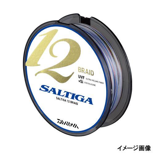 ダイワ ソルティガ 12ブレイド 600m 2号 スーパーホワイト/ブルー/オレンジ/パープル/グリーン