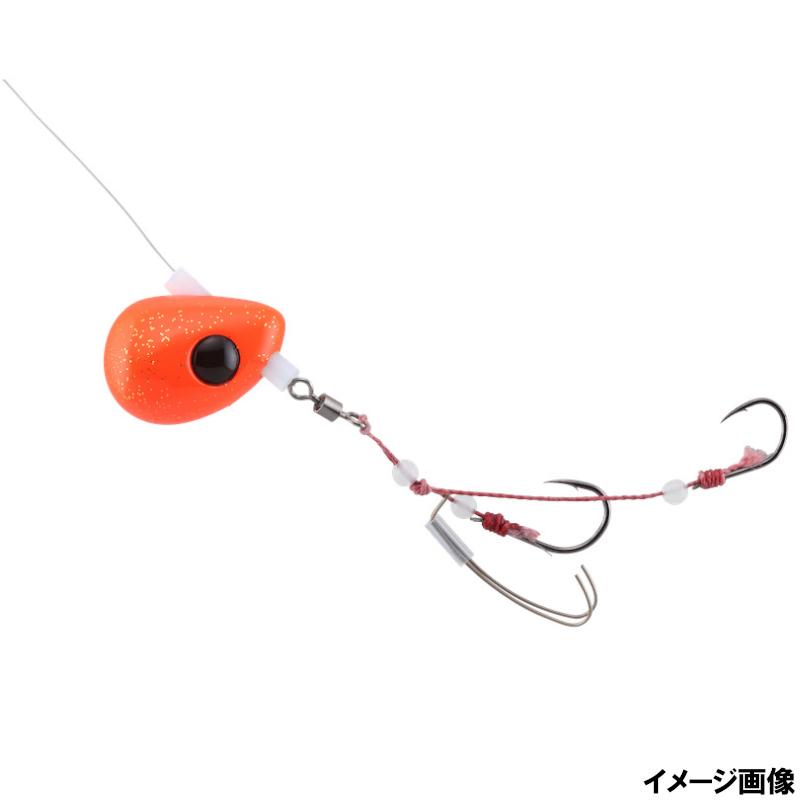 人気海外一番 ジャッカル ビンビンテンヤ鯛夢遊動 5号 オレンジゴールドフレーク おすすめ ゆうパケット