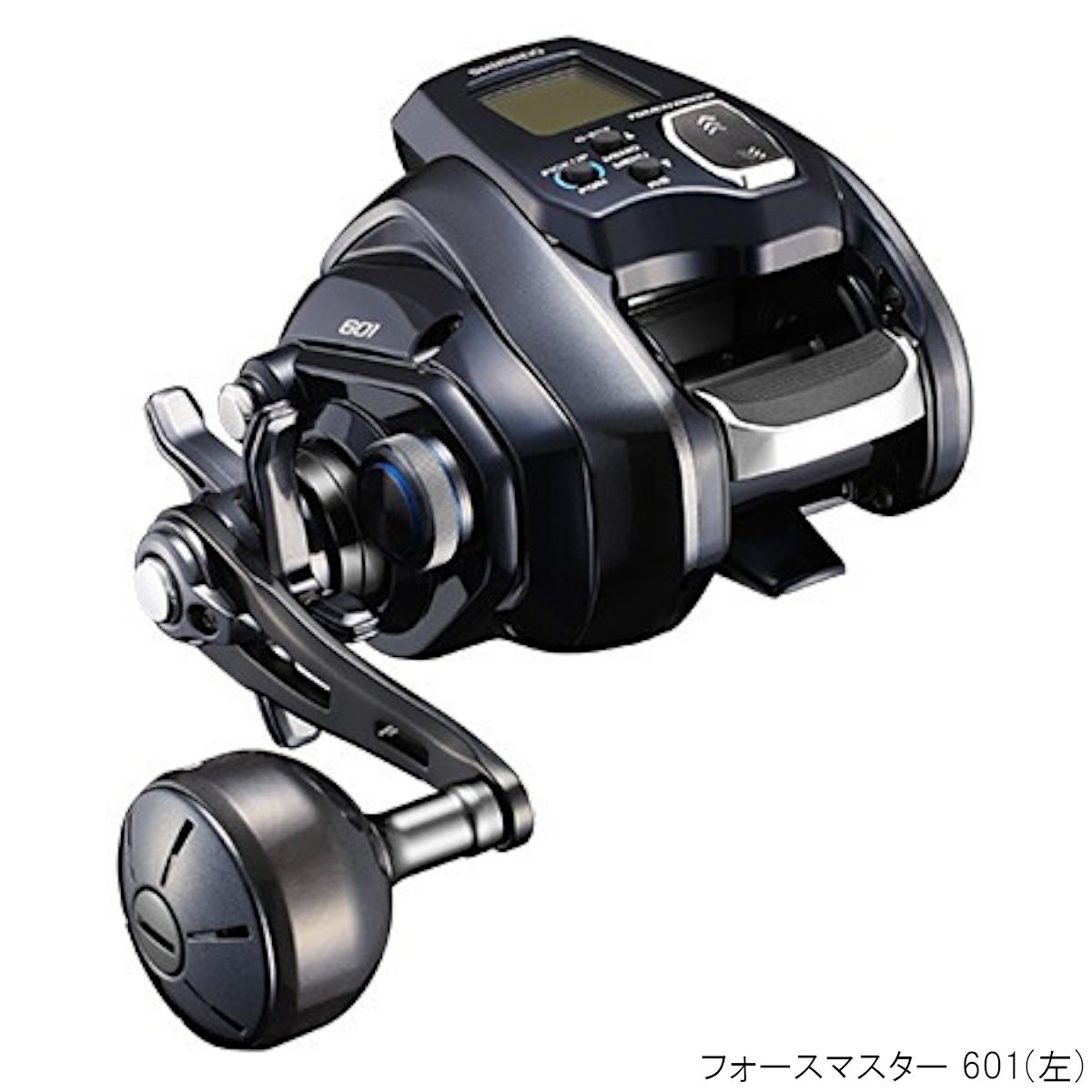 フォースマスター 601 左巻き 電動リール 2020年モデル シマノ 運動会 喜寿祝 葬儀