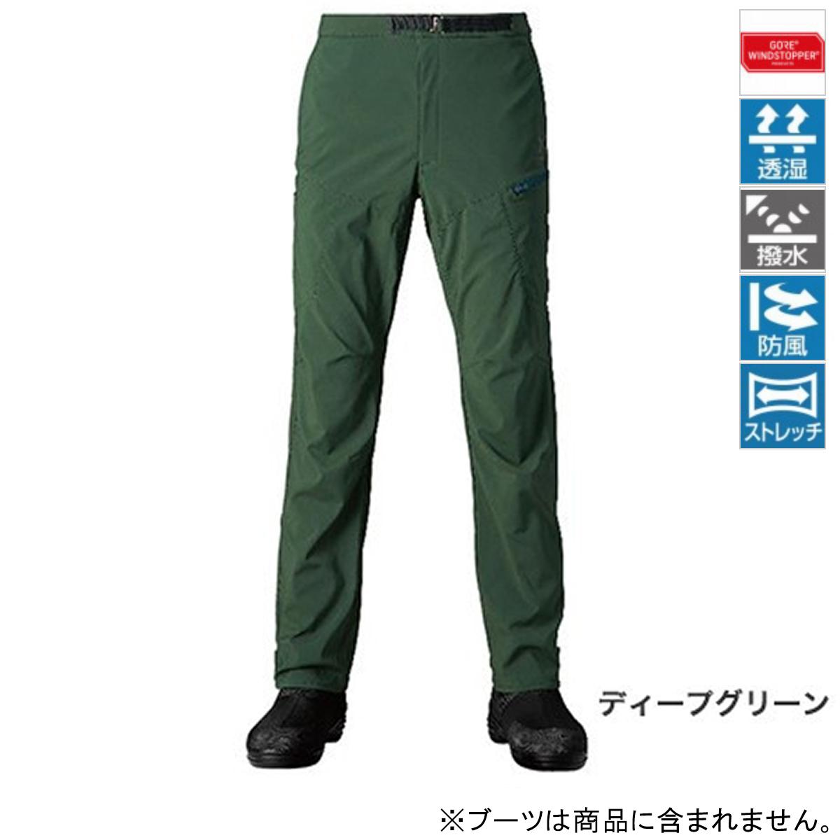 シマノ XEFO ゴア ウィンドストッパー ボトム PA-241R 2XL ディープグリーン