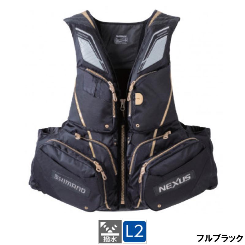 熱い販売 【複数店舗で買いまわりをして最大10倍P!】シマノ [VF-121T] NEXUS・フローティングベスト ネクサス NEXUS・フローティングベスト EX ネクサス M フルブラック [VF-121T], K-ワークス:bcf000a4 --- kventurepartners.sakura.ne.jp