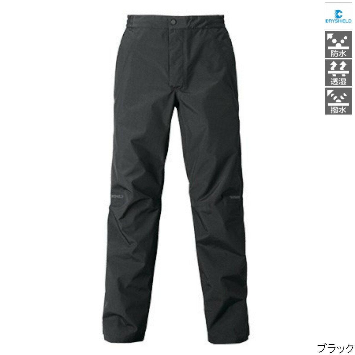 DSエクスプローラーレインパンツ RA-04PT Ls ブラック シマノ【同梱不可】