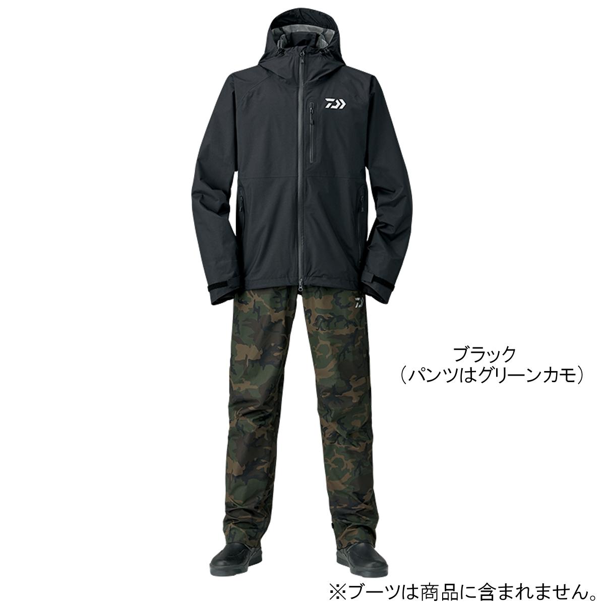 ダイワ レインマックス レインスーツ DR-33008 XL ブラック【送料無料】