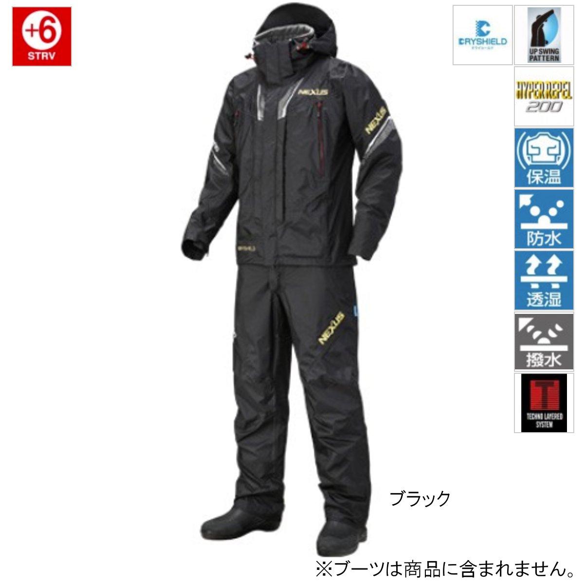 シマノ NEXUS・DSプロテクトスーツ XT RT-125R XL ブラック【送料無料】