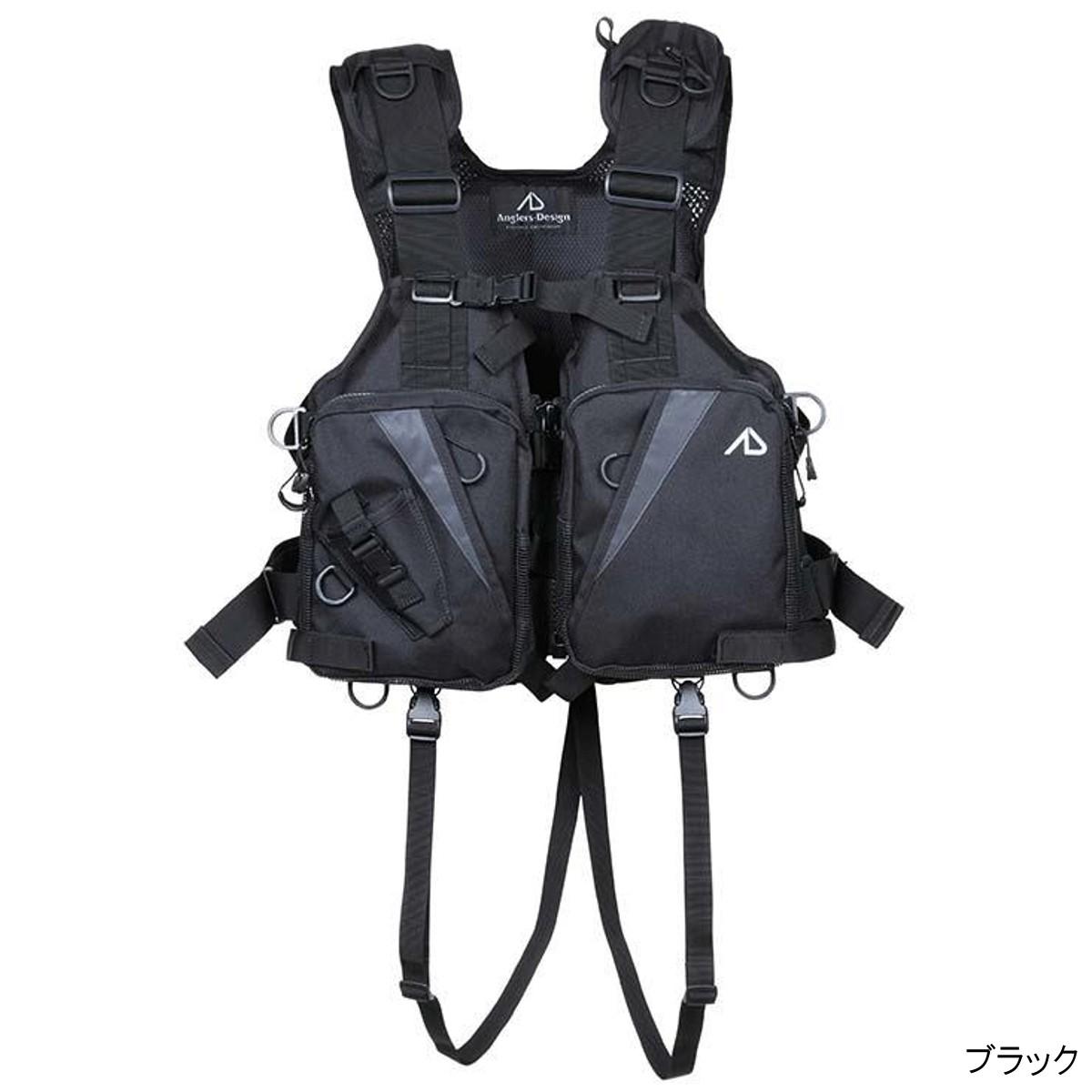 オールラウンドベスト RS-2 フリー ブラック【送料無料】