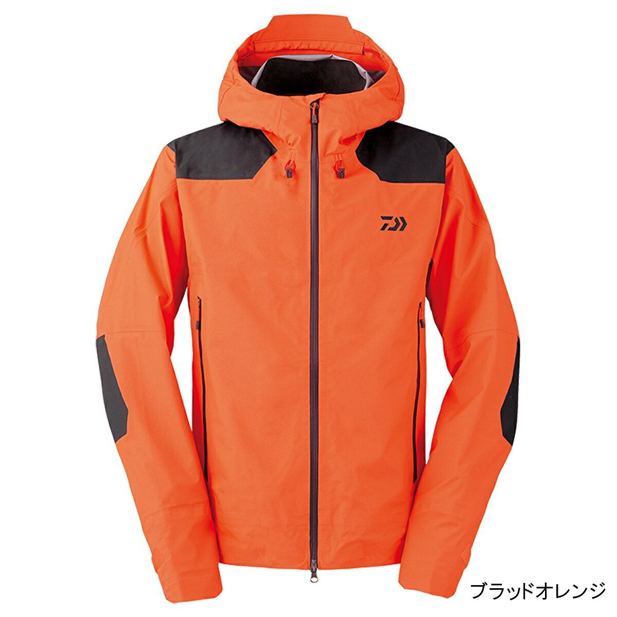 ダイワ レインマックス レインジャケット DR-2008J XL ブラッドオレンジ