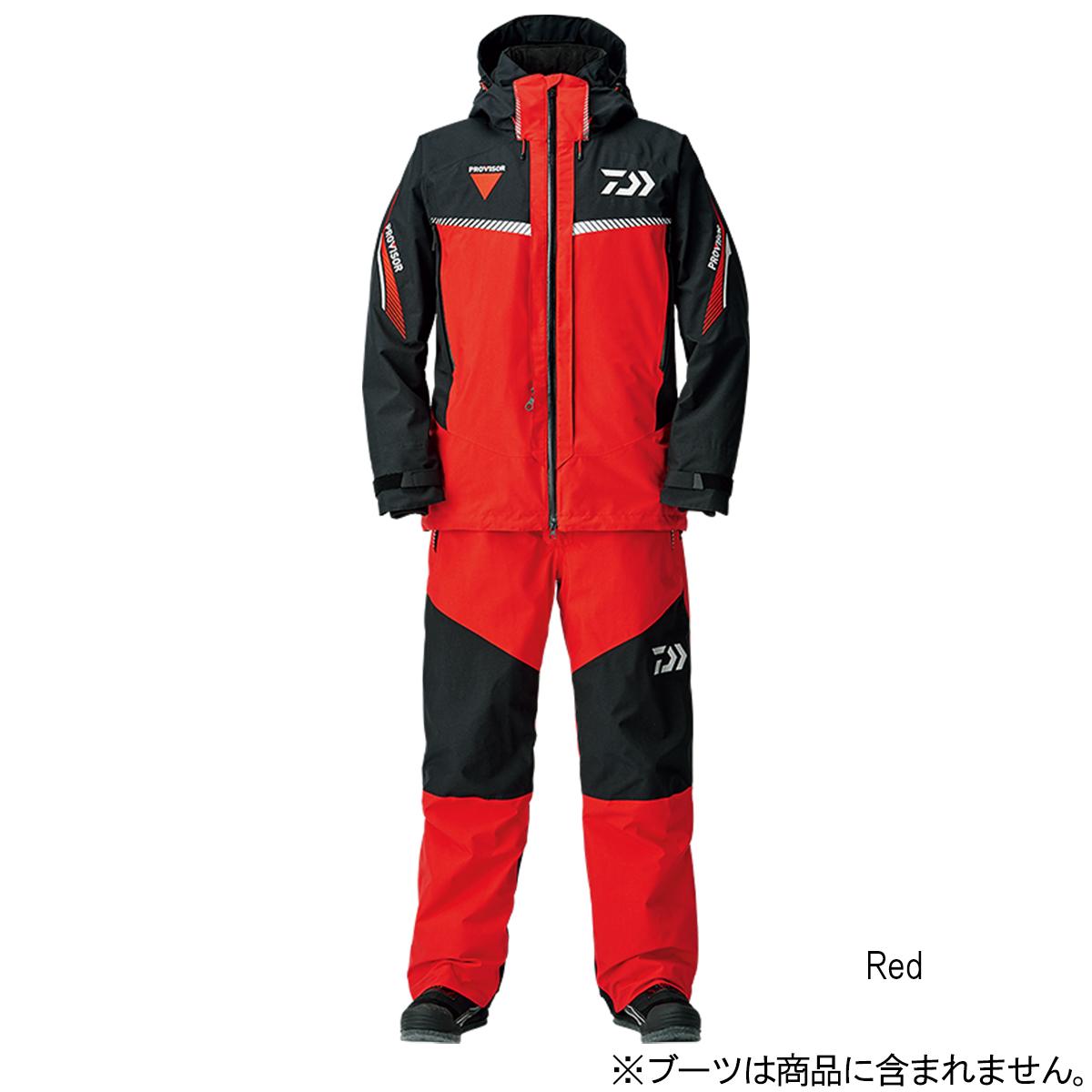 ダイワ ゴアテックス プロダクト ファブリクス コンビアップ ウィンタースーツ DW-1308 XL Red【送料無料】