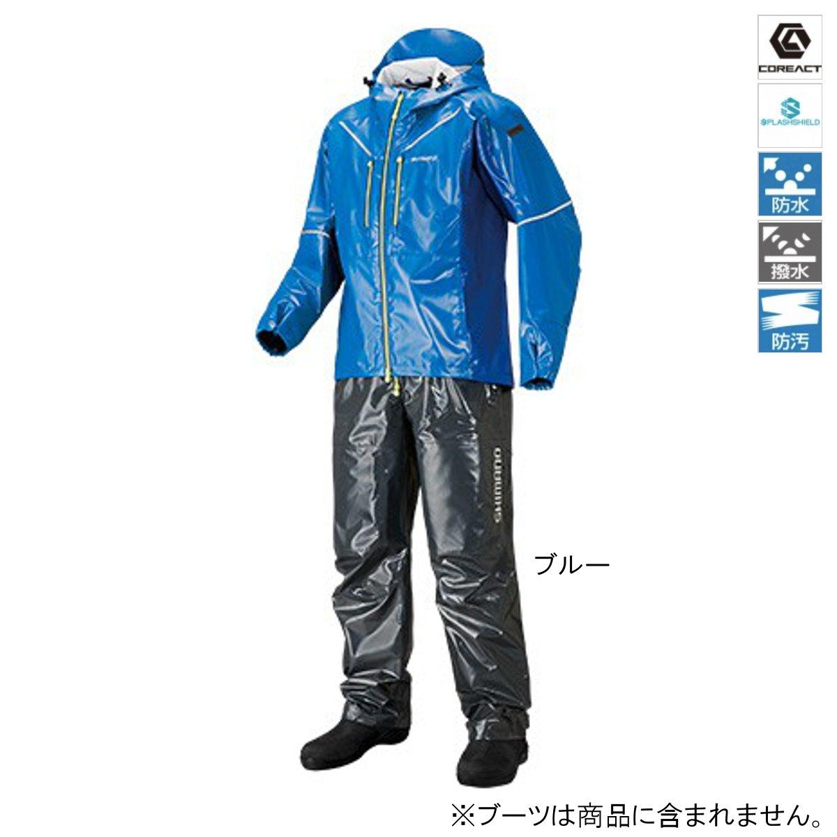シマノ SS・3Dマリンスーツ RA-033R L ブルー【送料無料】