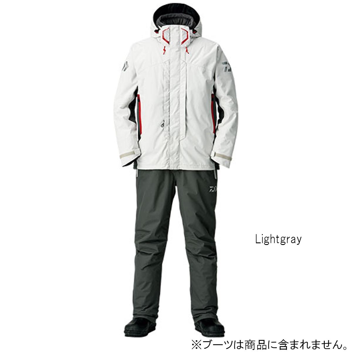 ダイワ レインマックス ハイパー ハイロフト コンビアップ ウィンタースーツ DW-3408 XL Lightgray【送料無料】