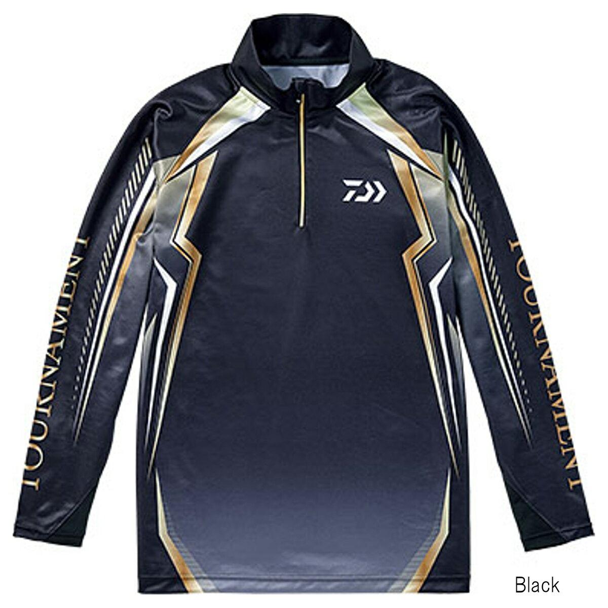 ダイワ トーナメント ドライシャツ DE-77008T M Black