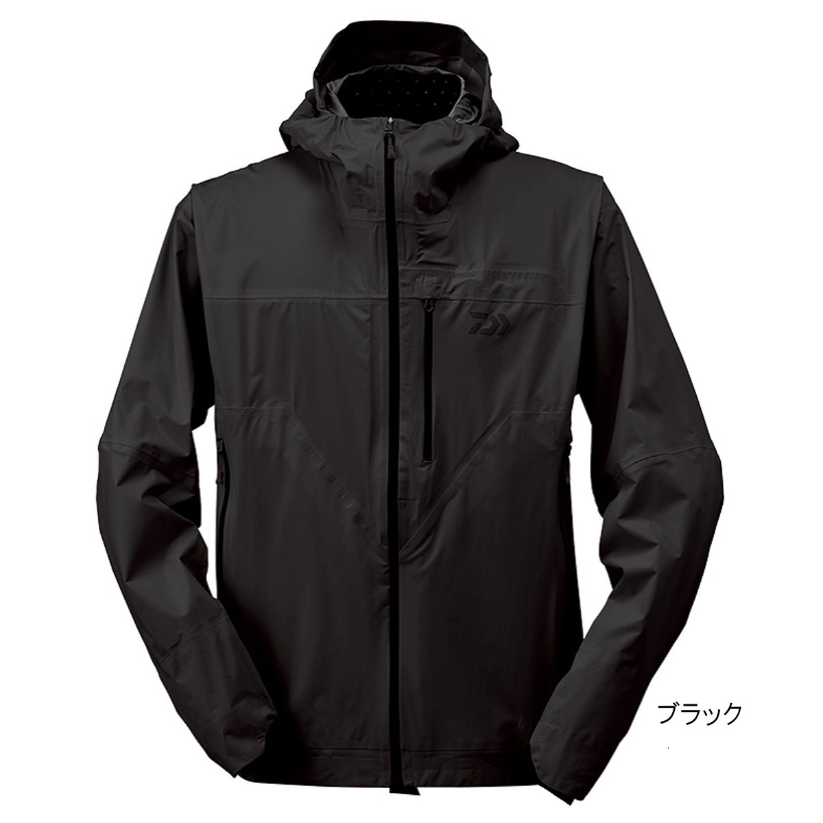 ダイワ レインマックス ポケッタブルレインジャケット DR-32009J M ブラック【送料無料】