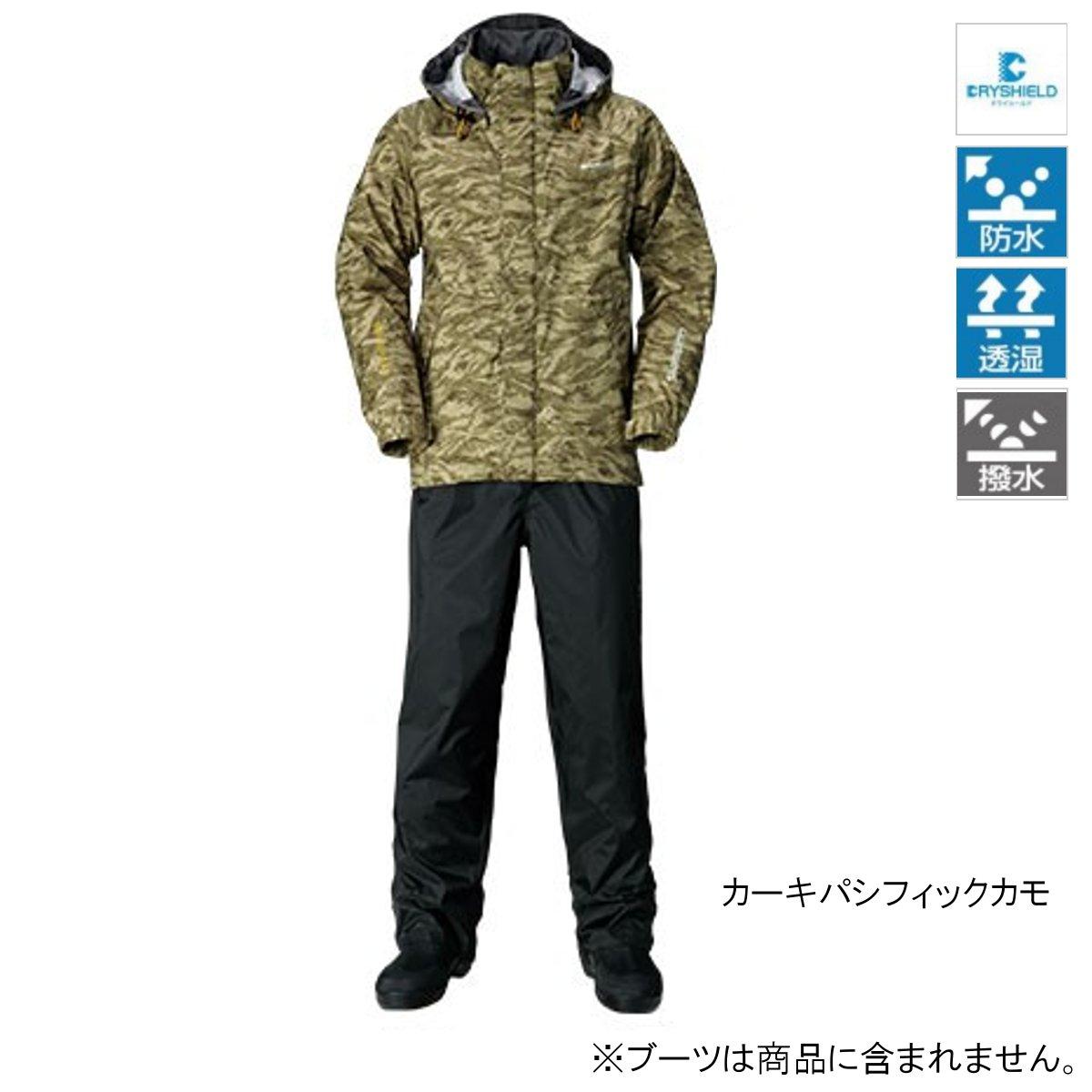シマノ DSベーシックスーツ RA-027Q 2XL カーキパシフィックカモ