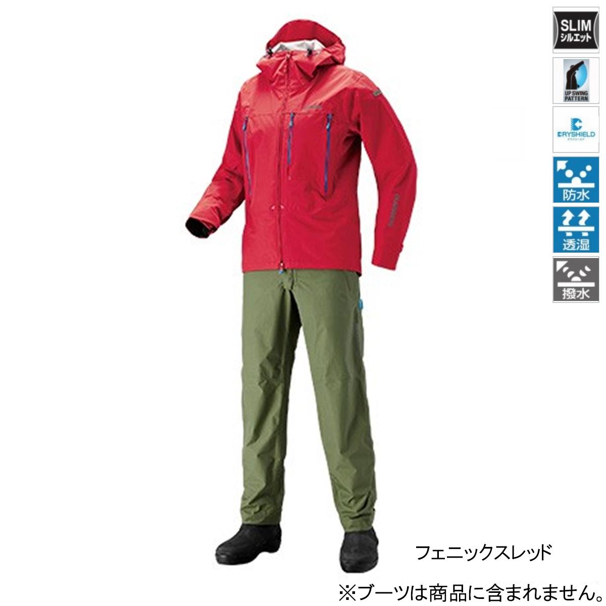 シマノ DSエクスプローラースーツ RA-024S L フェニックスレッド【送料無料】