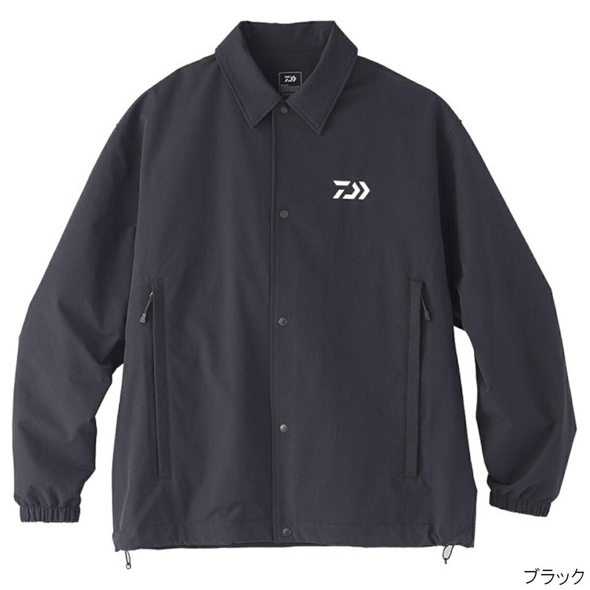 撥水 コーチジャケット DJ-35020 M ブラック ダイワ【同梱不可】