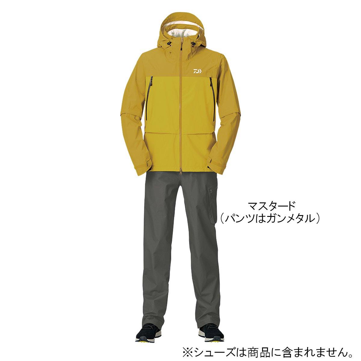 ダイワ レインマックス デタッチャブルレインスーツ DR-30009 XL マスタード【送料無料】