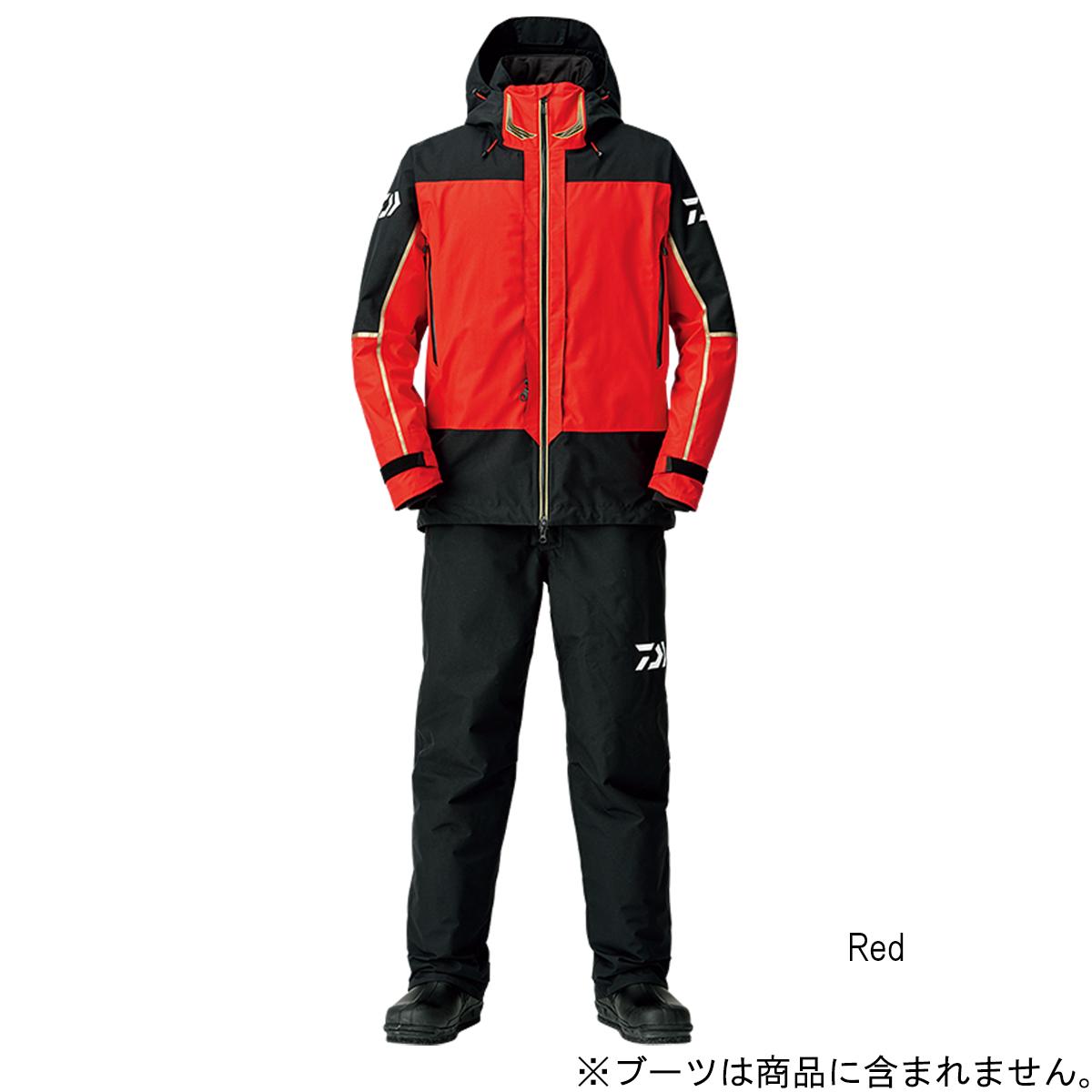 ダイワ ゴアテックス プロダクト コンビアップ ウィンタースーツ DW-1808 XL Red【送料無料】