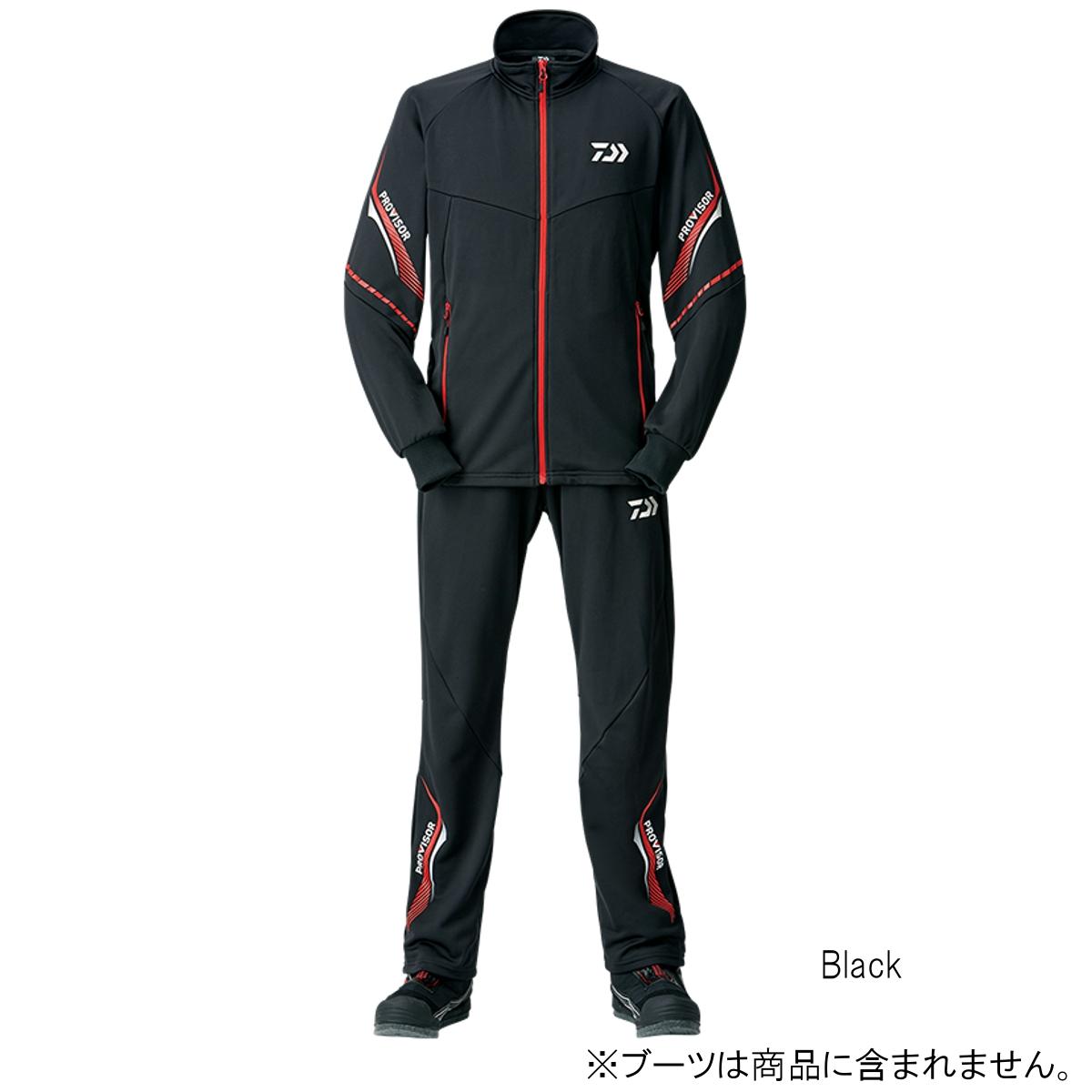 ダイワ プロバイザージャージスーツ DI-24008 M Black【送料無料】