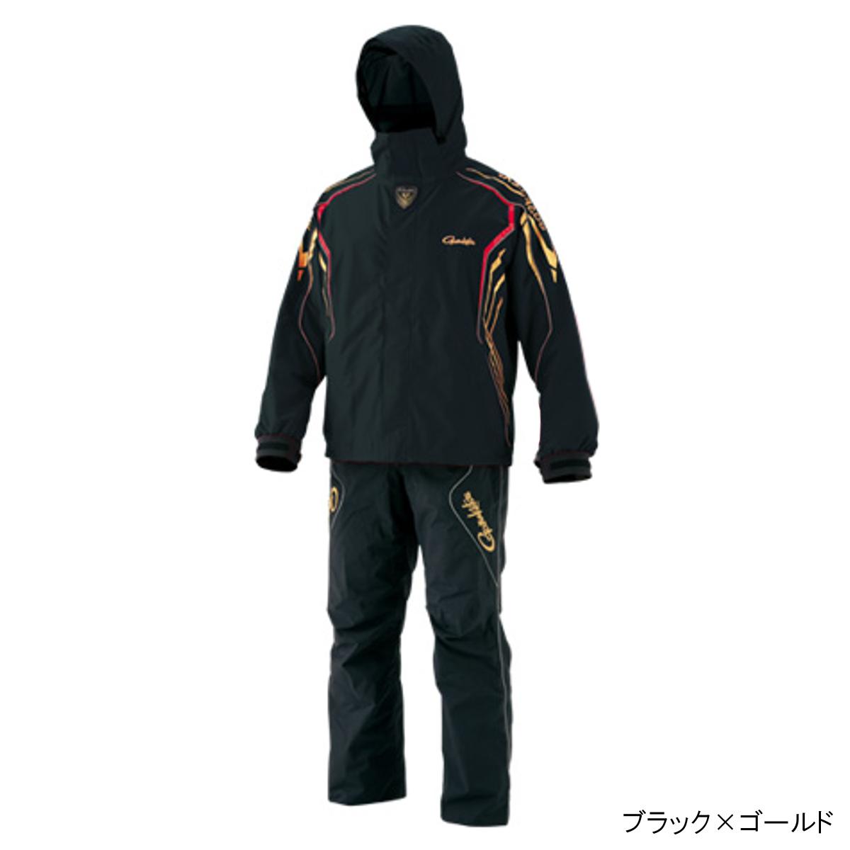 ゴアテックス レインスーツ GM-3500 L ブラック×ゴールド【送料無料】