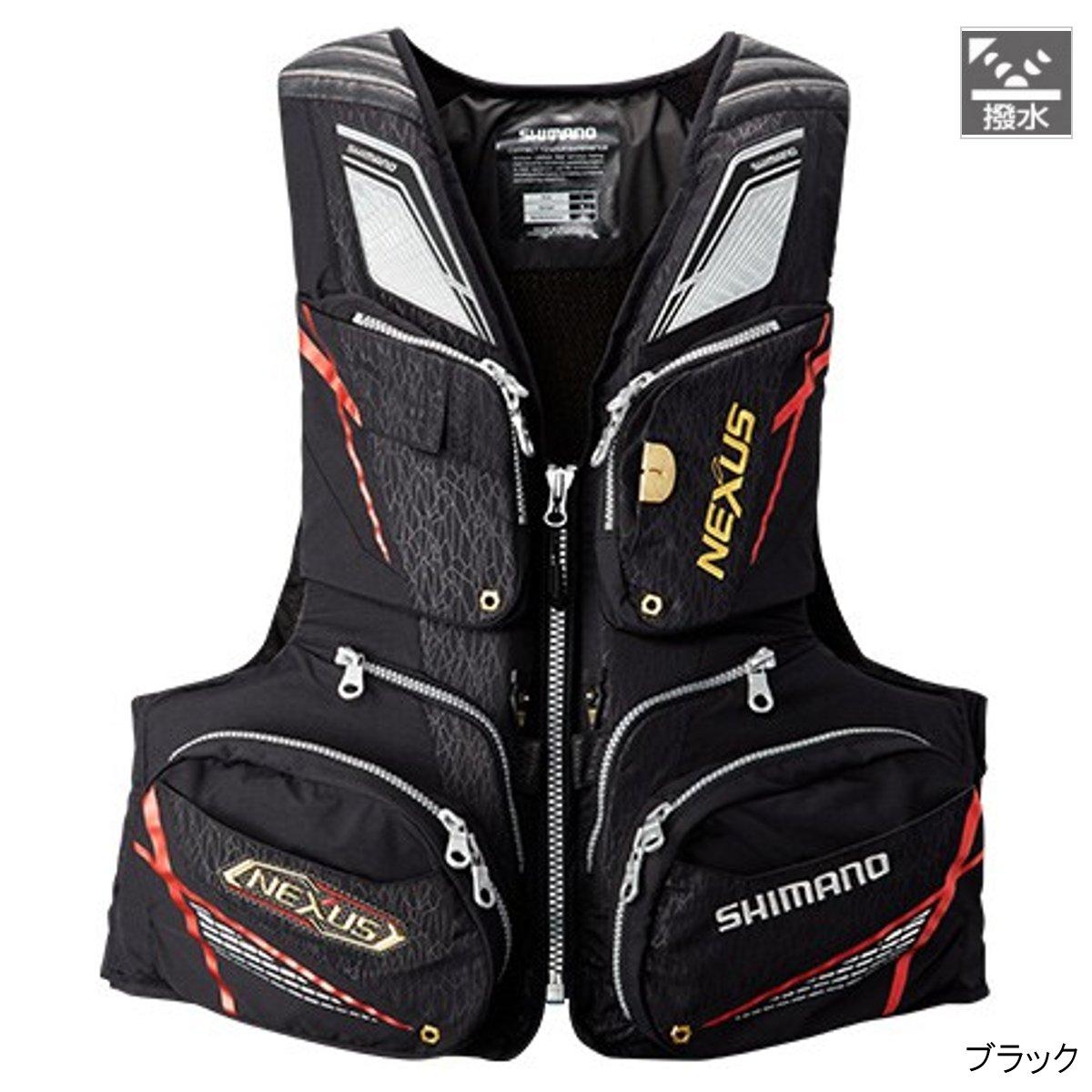 シマノ NEXUS・フローティングベスト XT VF-122Q XL ブラック【送料無料】
