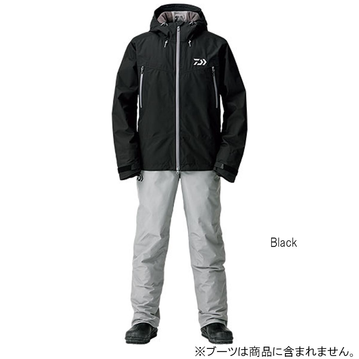 ダイワ ゴアテックス ファブリクス ウィンタースーツ DW-1908 M Black【送料無料】