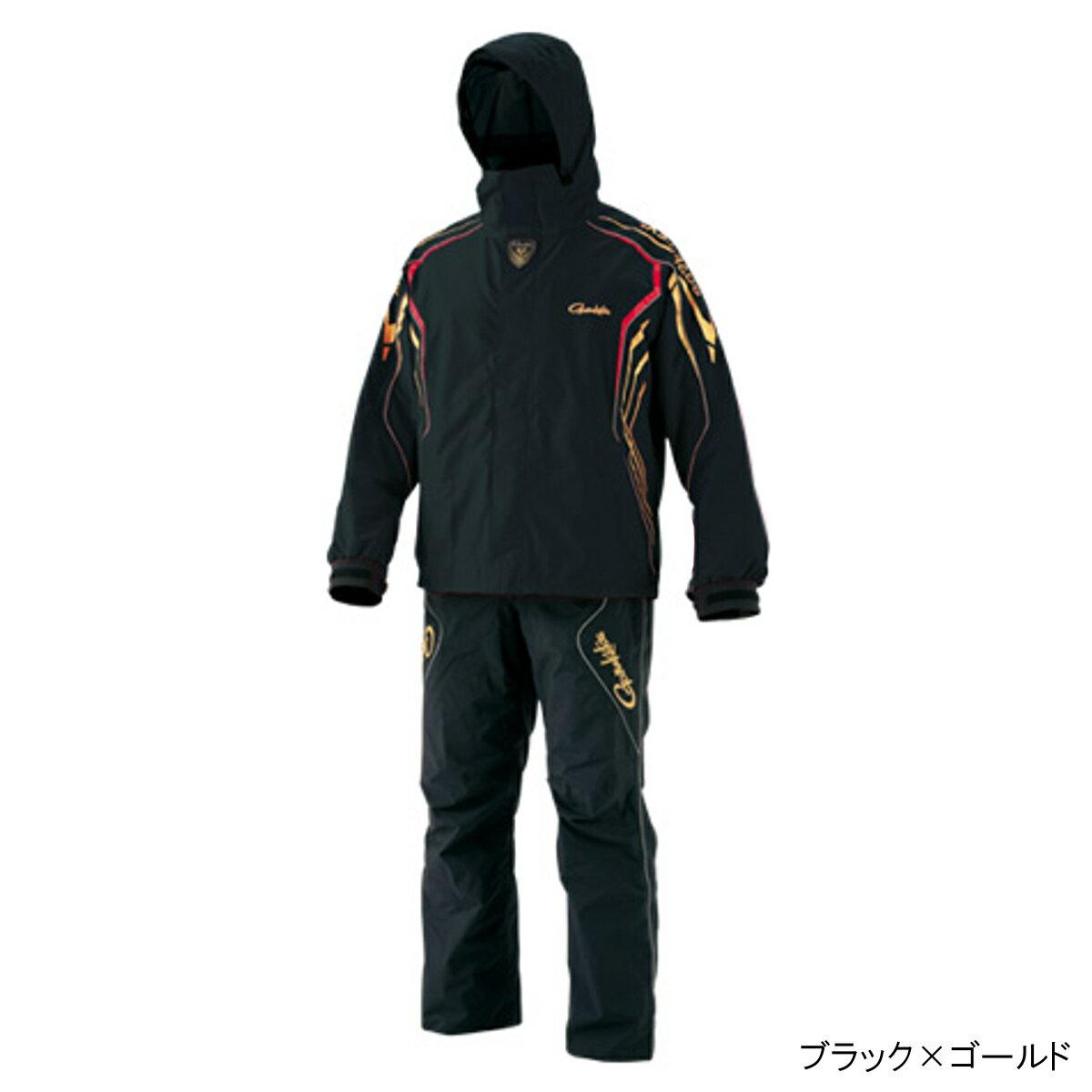 ゴアテックス レインスーツ GM-3500 3L ブラック×ゴールド【送料無料】