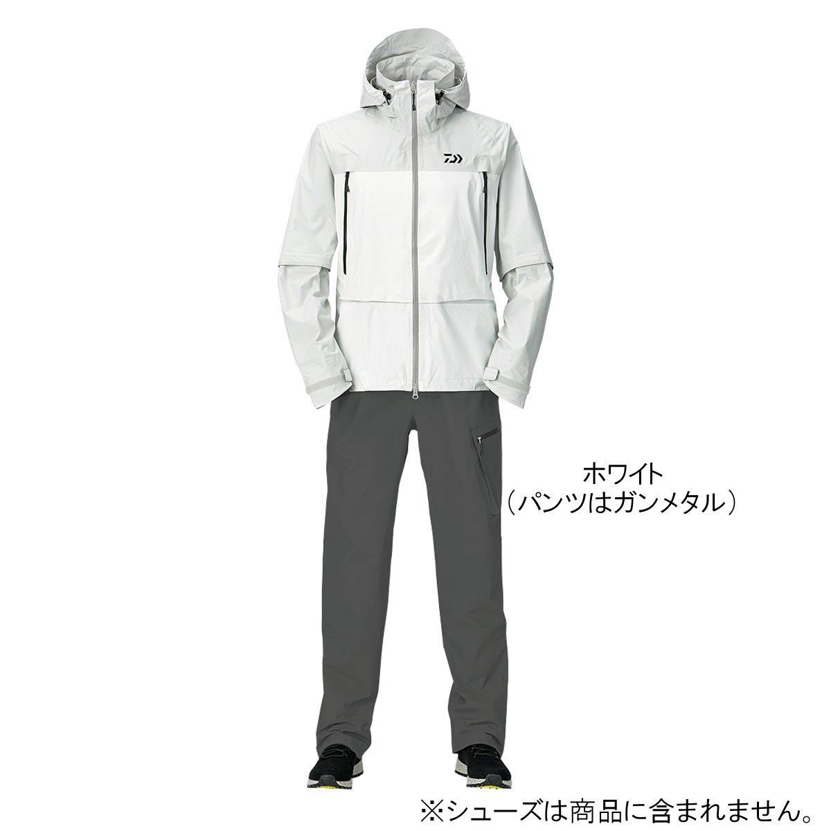ダイワ レインマックス デタッチャブルレインスーツ DR-30009 XL ホワイト【送料無料】