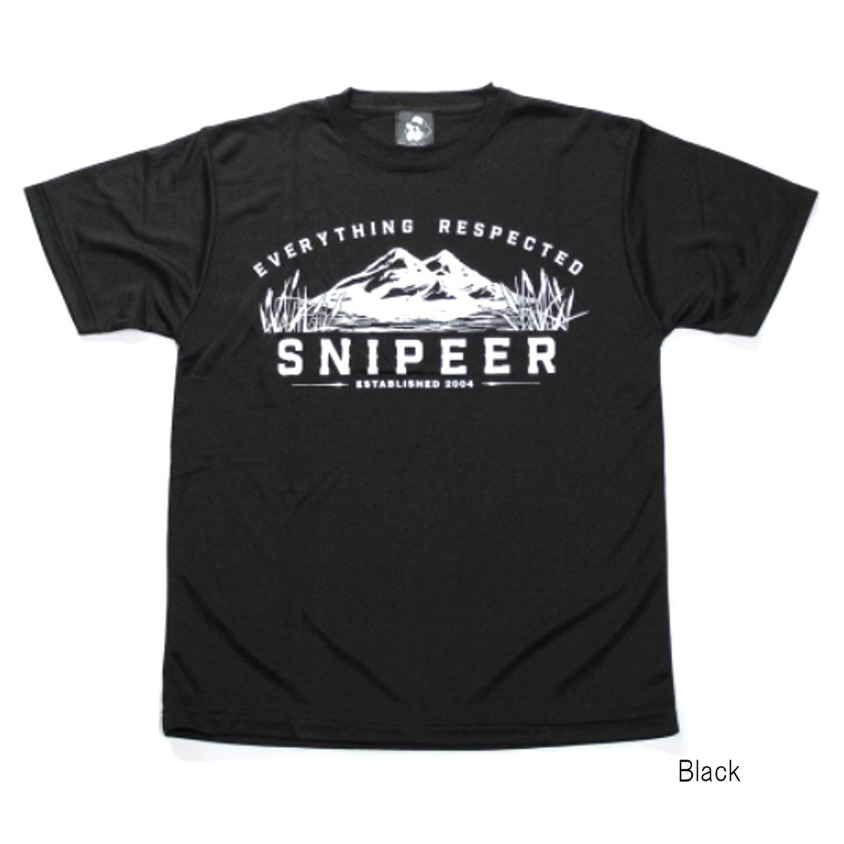 【10月30日カードユーザーエントリーP19倍!】スナイパー Mountain DRY Tee SNP-T066-B M 黒