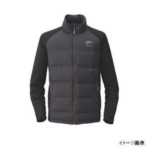ハヤブサ FOURON ボディグリッドダウンジャケット Y1129 LL 90(ブラック)【送料無料】