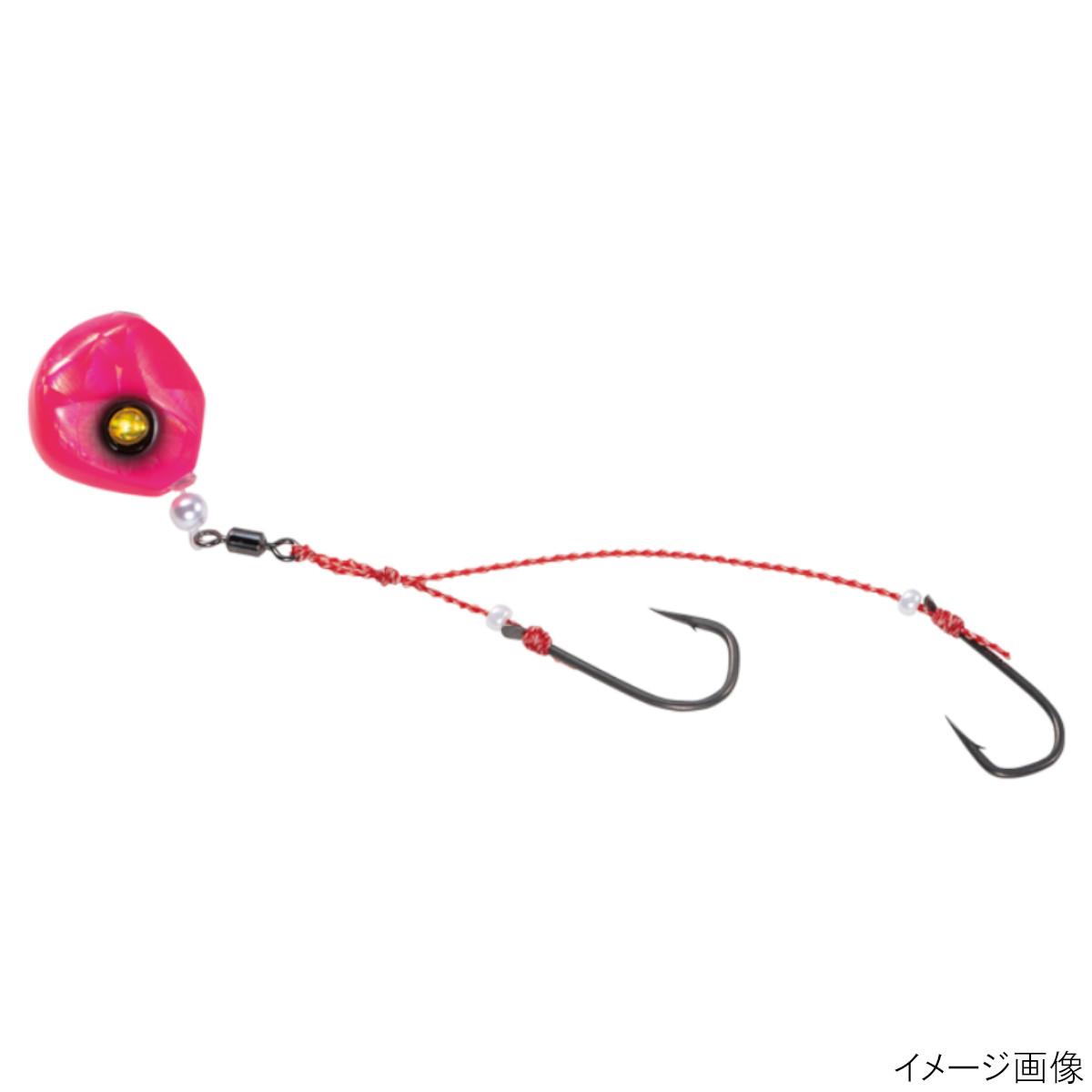 無双真鯛 貫撃遊動テンヤ FD SE108 超激安特価 12号 お買得 ゆうパケット 5.ぴかぴかピンク