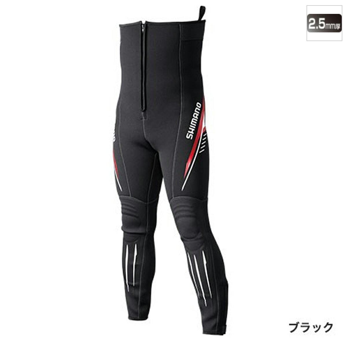 シマノ 鮎タイツT-2.5 TI-071Q LLA ブラック【送料無料】